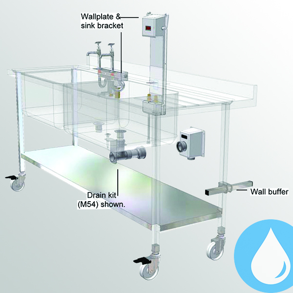 Mobilisation Systems for Sinks & Dishtabling