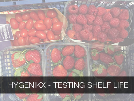 hygenikx case study - testing shelf life